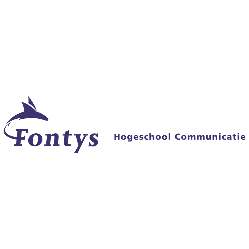 Fontys Hogeschool Communicatie vector