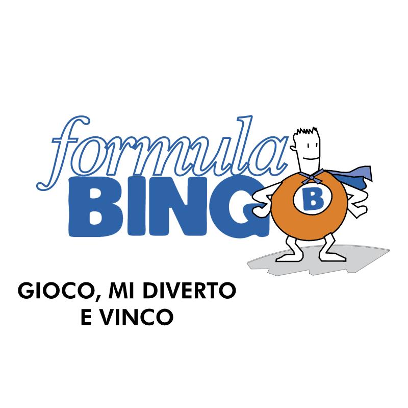 Formula Bingo vector