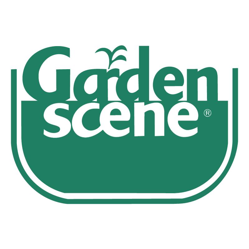 Garden Scene vector