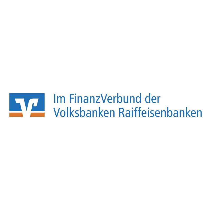 Im FinanzVerbund der Volksbanken Raiffeisenbanken vector