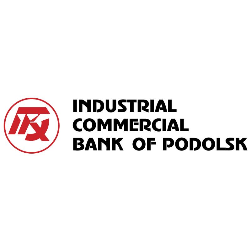 Industrial Commercial Bank of Podolsk vector