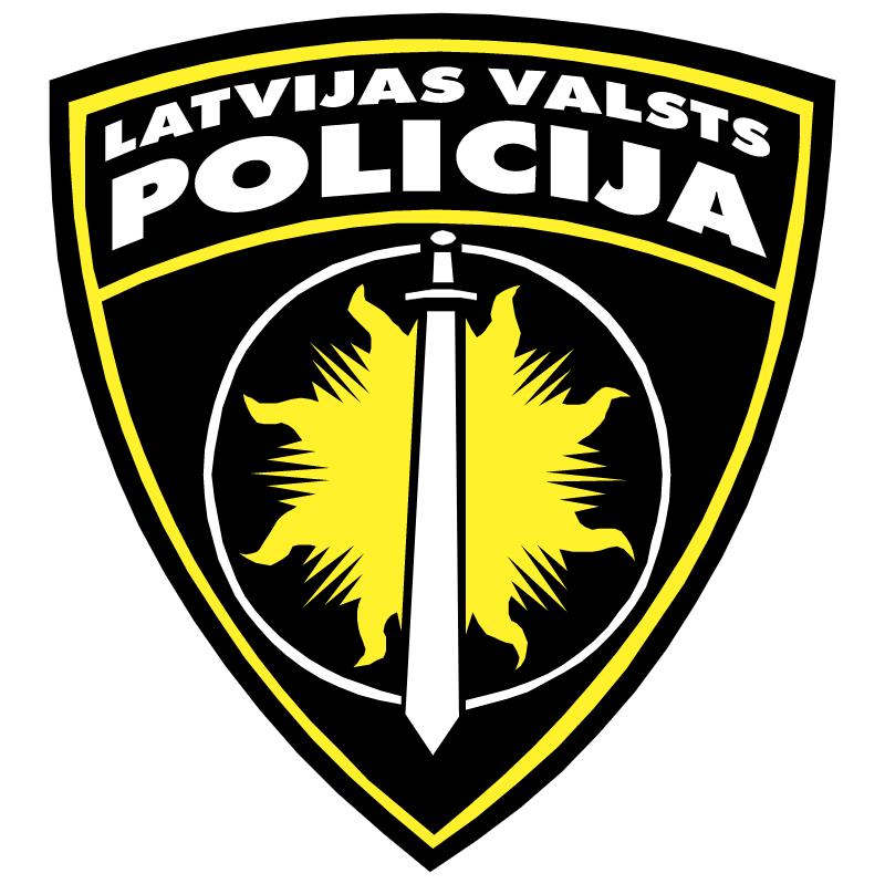 Latvijas Valsts Policija vector