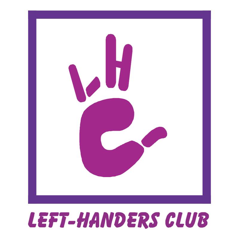 Left Handers Club vector