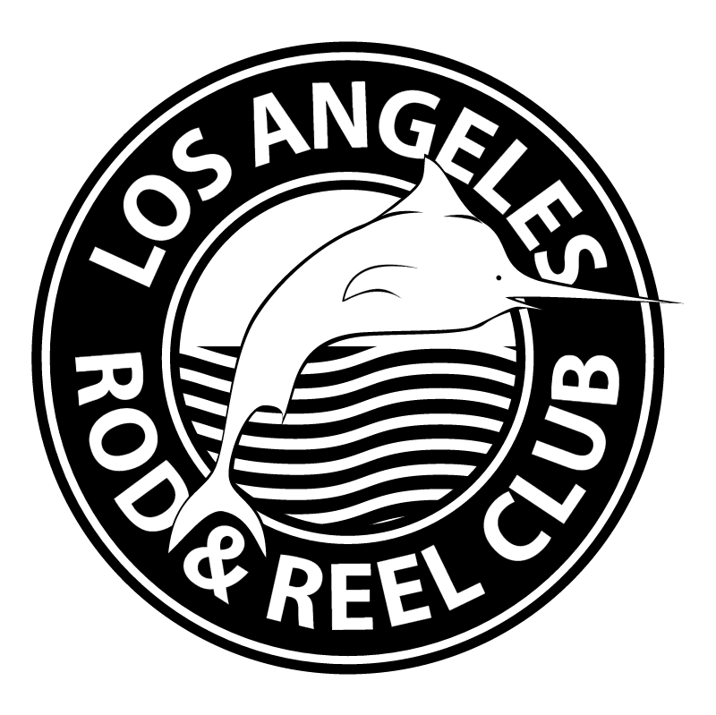 Los Angeles Rod & Reel Club vector
