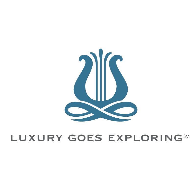 Luxury Goes Exploring vector