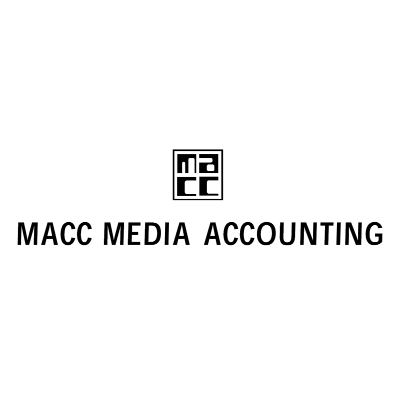 Macc Media Accounting vector