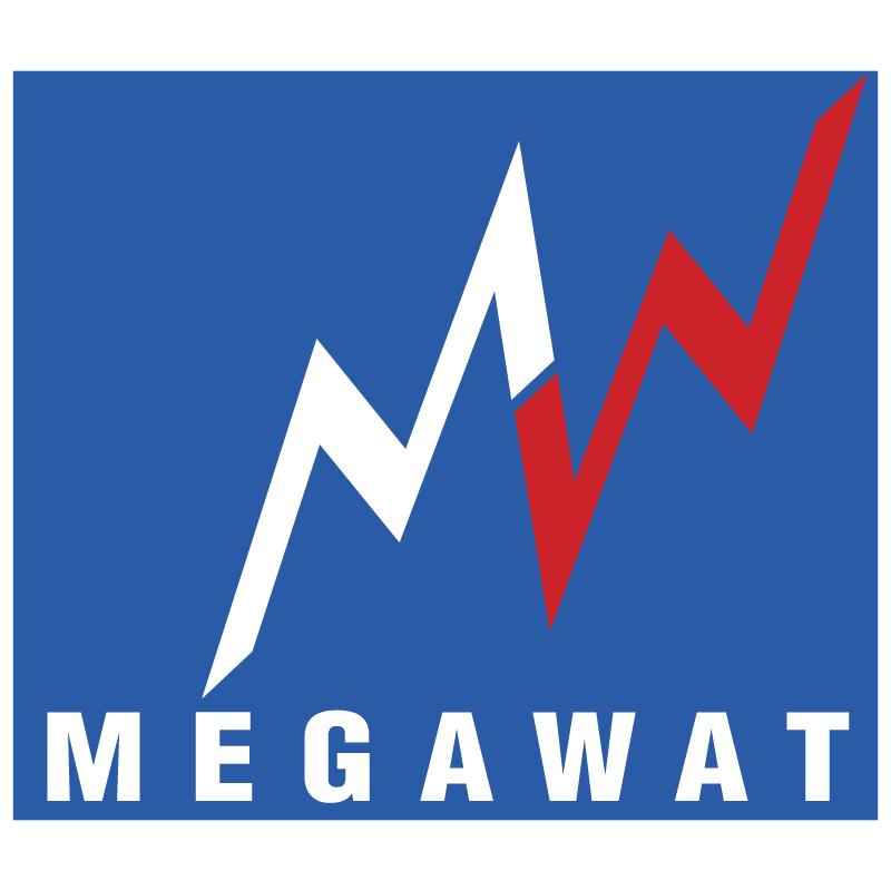 Megawat vector