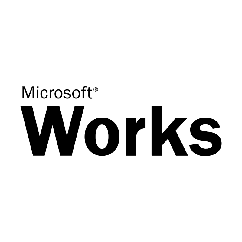 Microsoft Works vector logo