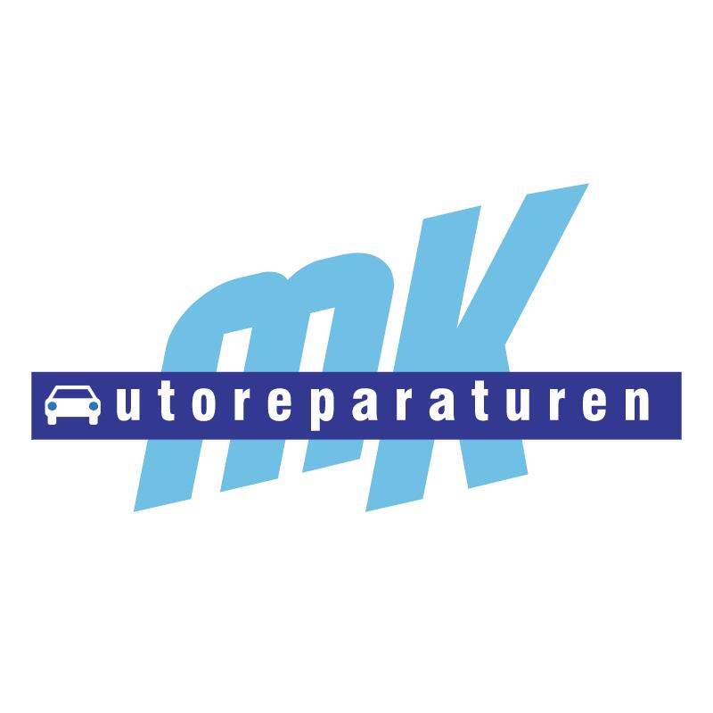 MK Autoreparaturen vector logo