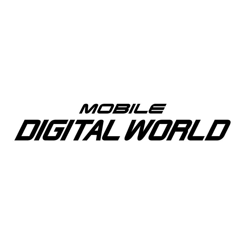Mobile Digital World vector