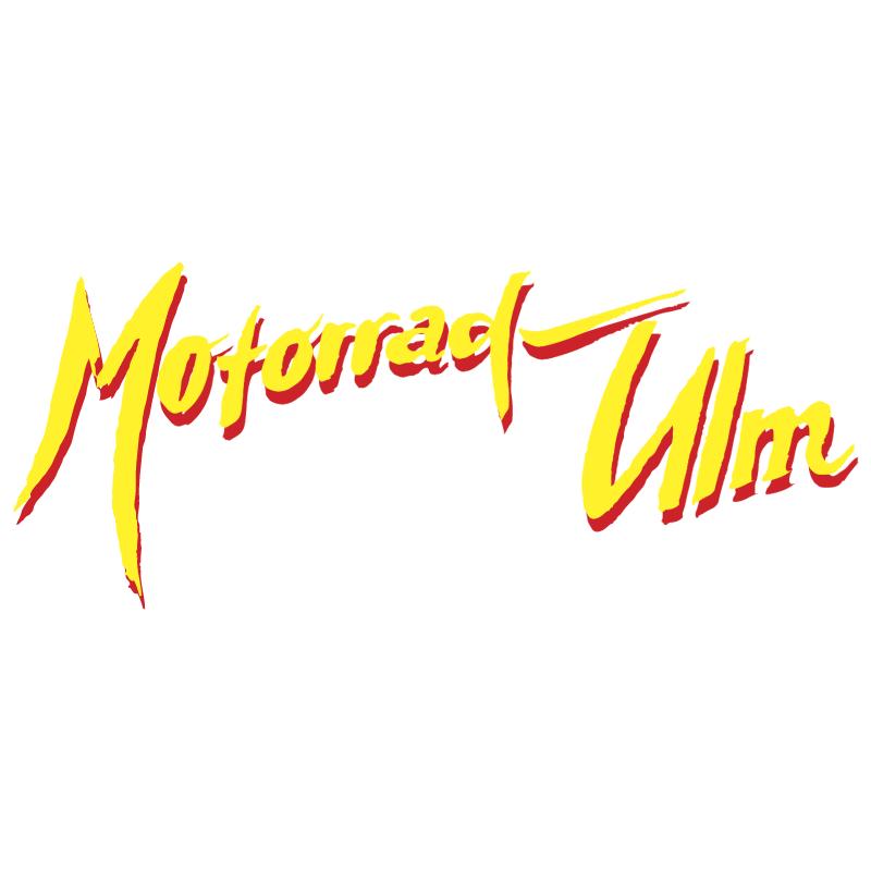 Motorrad Ulm vector logo