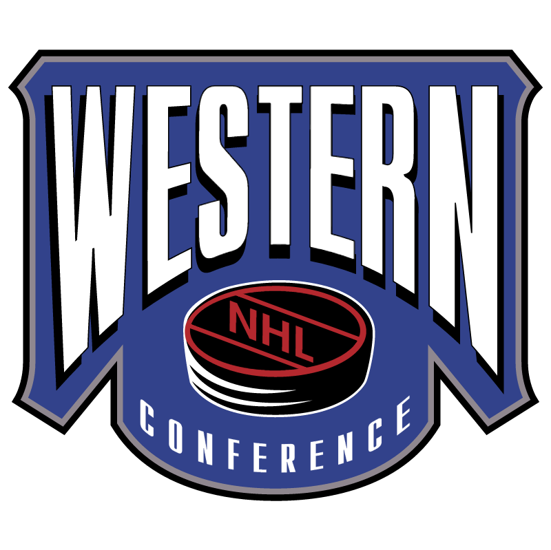 NHL Western Conference vector logo