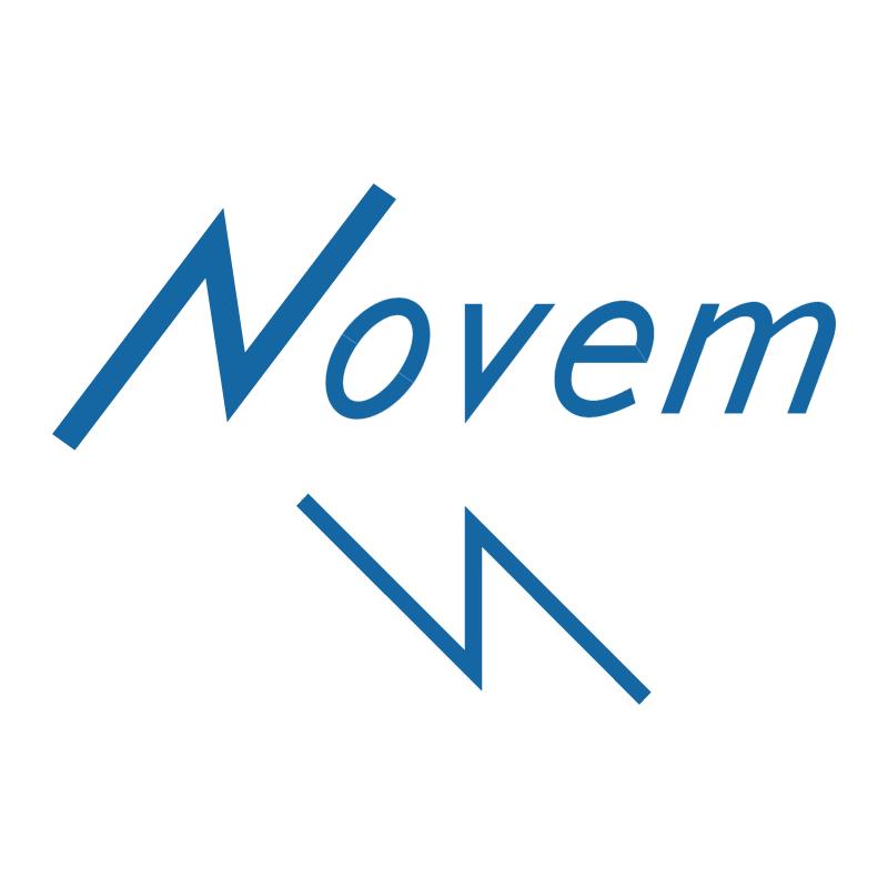 NOVEM vector logo