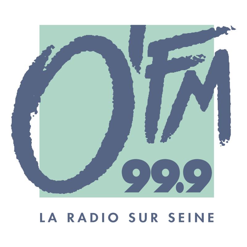 O'FM 99 9 vector