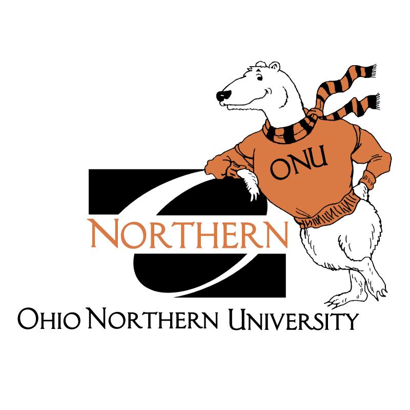 Ohio Northern University vector logo