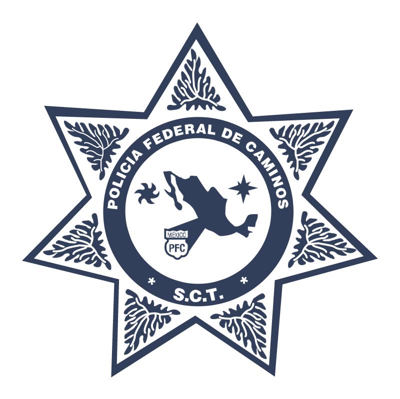 Policia Federal de Caminos Mexico vector