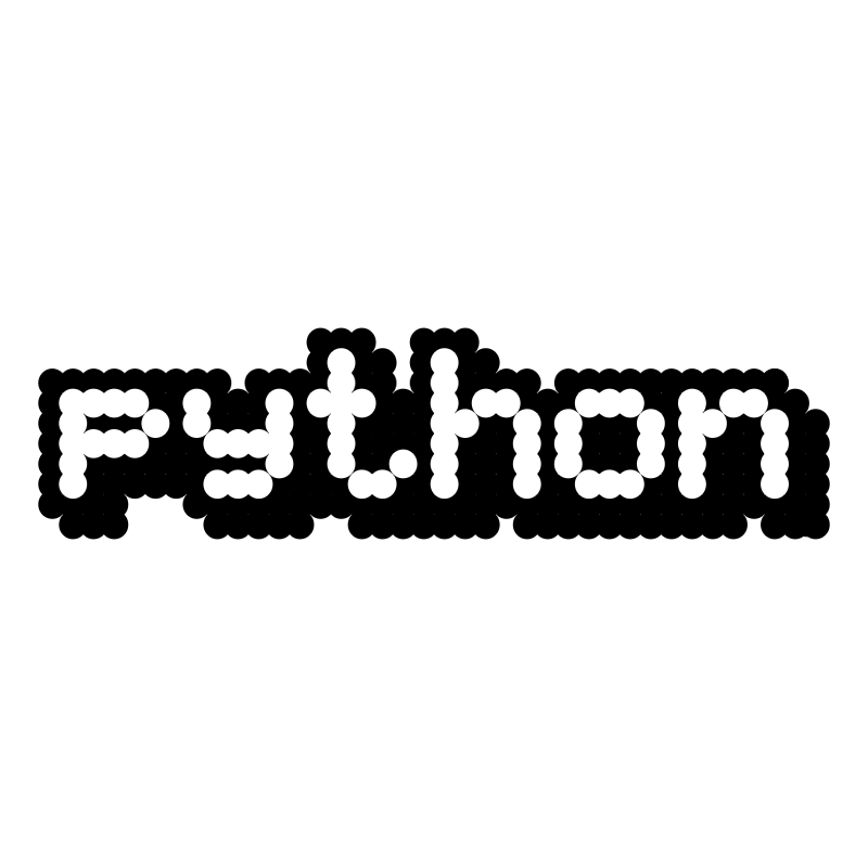 Python vector logo