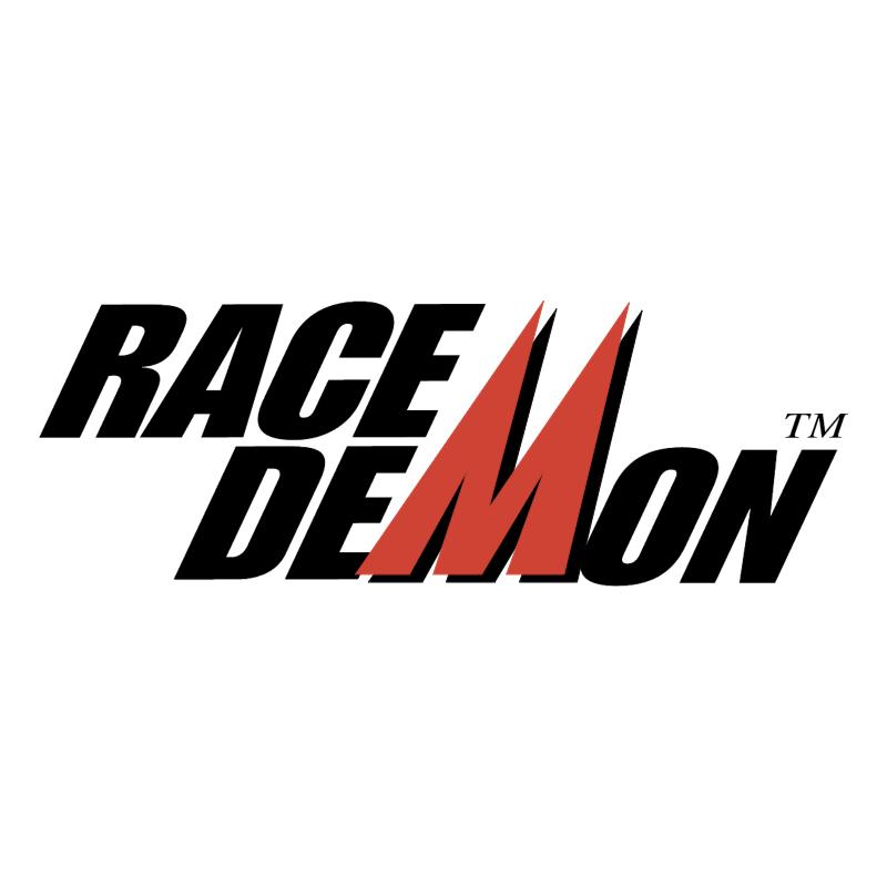 Race Demon vector