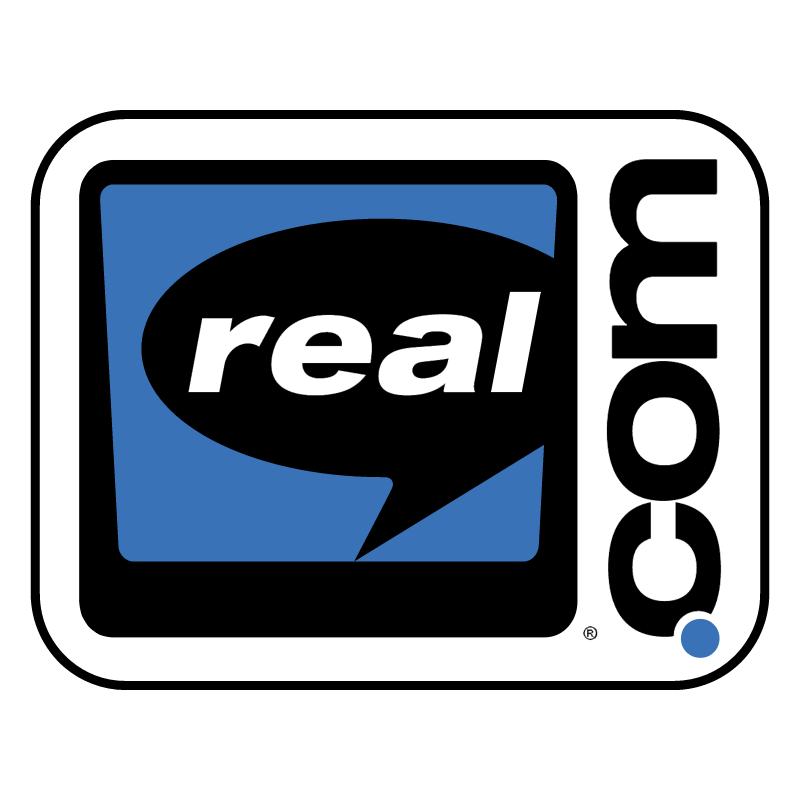 Real com vector logo