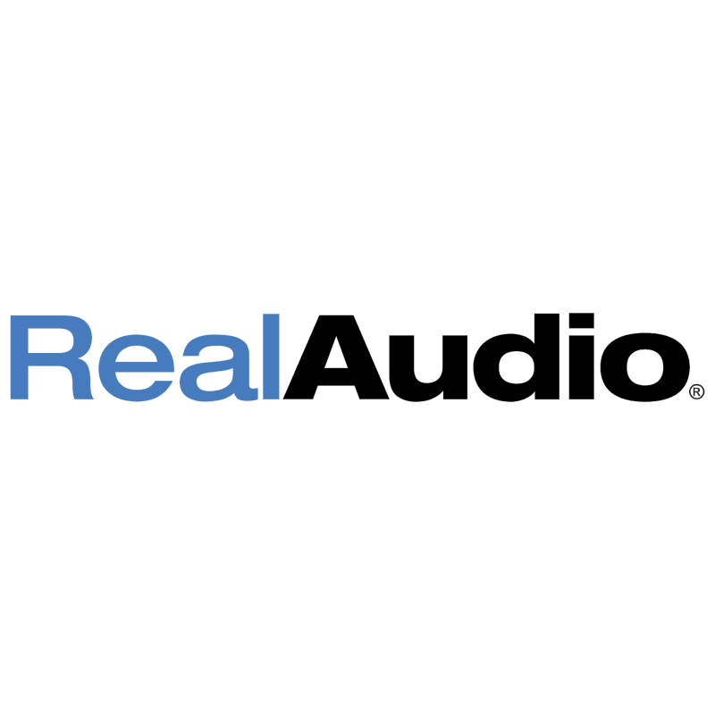 RealAudio vector logo
