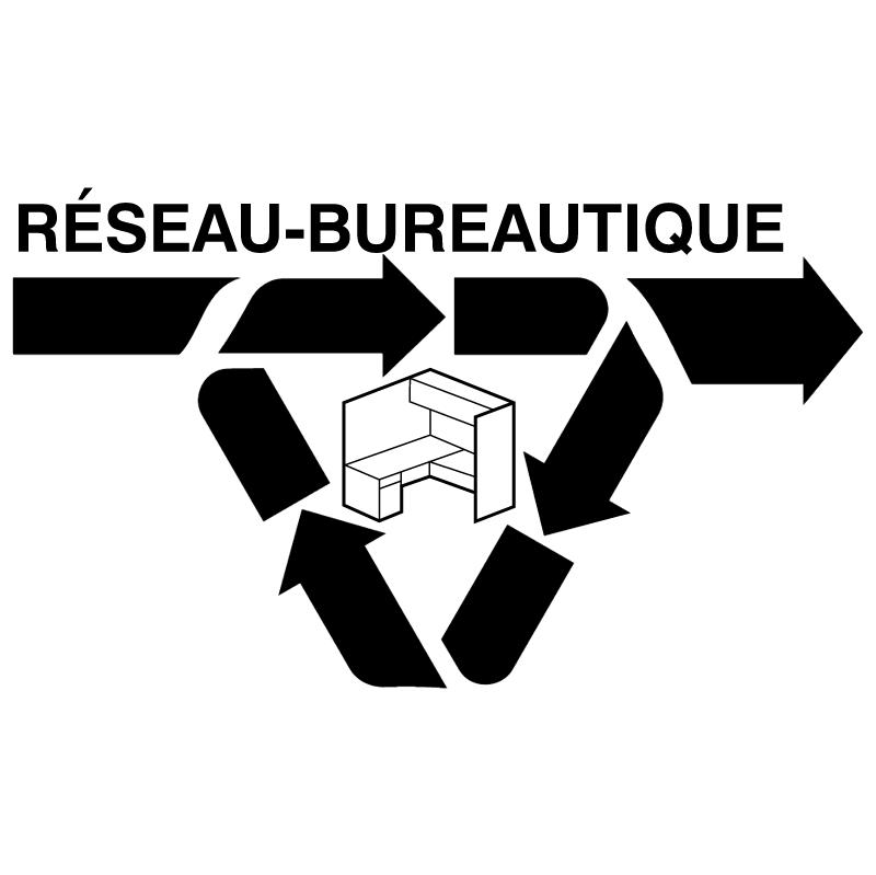 Reseau Bureautique vector