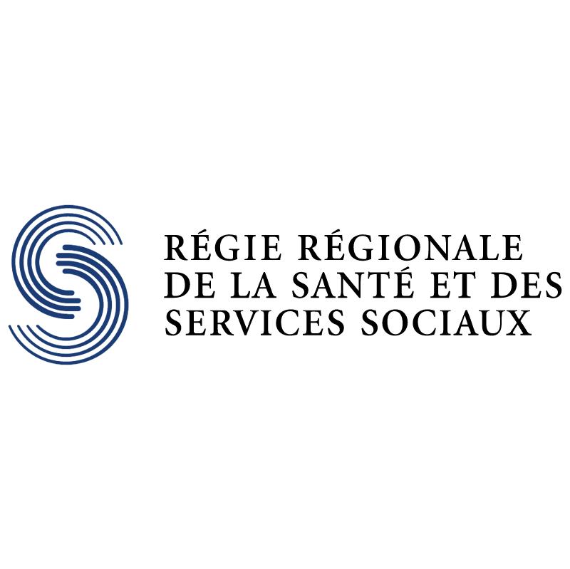 Sante Services Sociaux vector