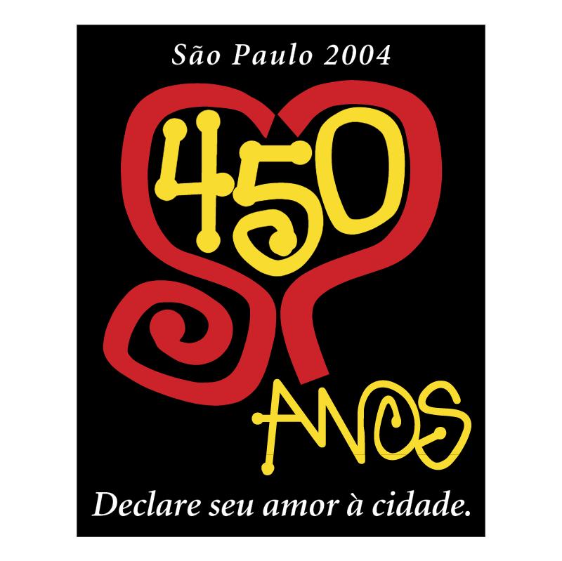 Sao Paulo 450 anos vector