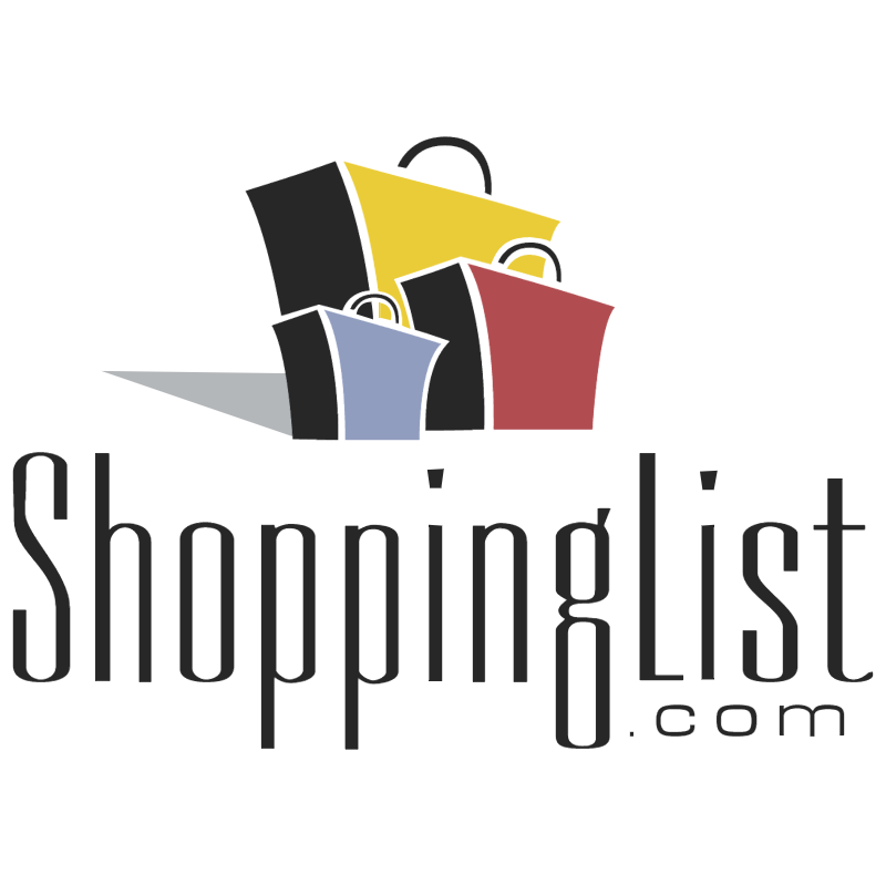ShoppingList com vector