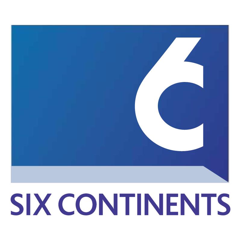 Six Continents vector
