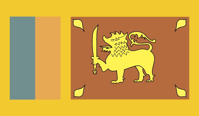 srilanka vector