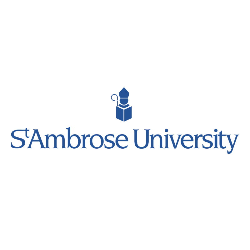 St Ambrose University vector