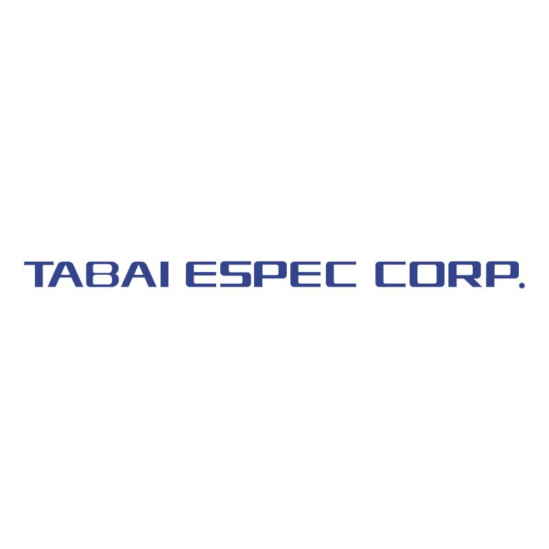 Tabai Espec Corp vector logo
