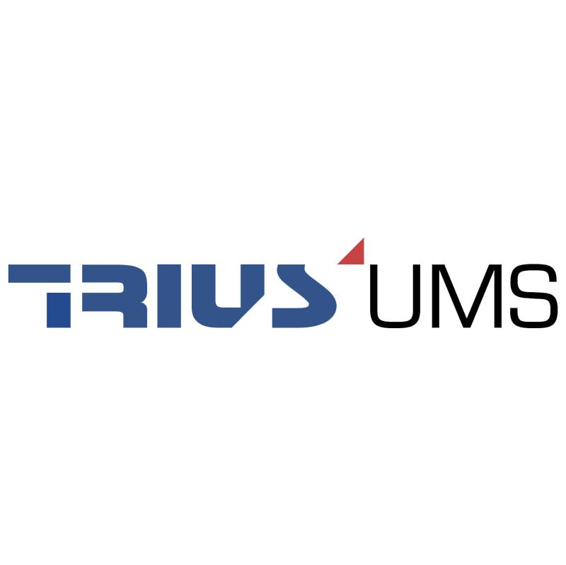 Trius UMS vector logo