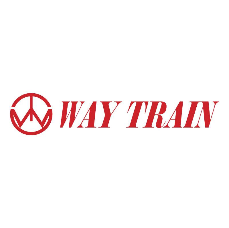 Way Train vector