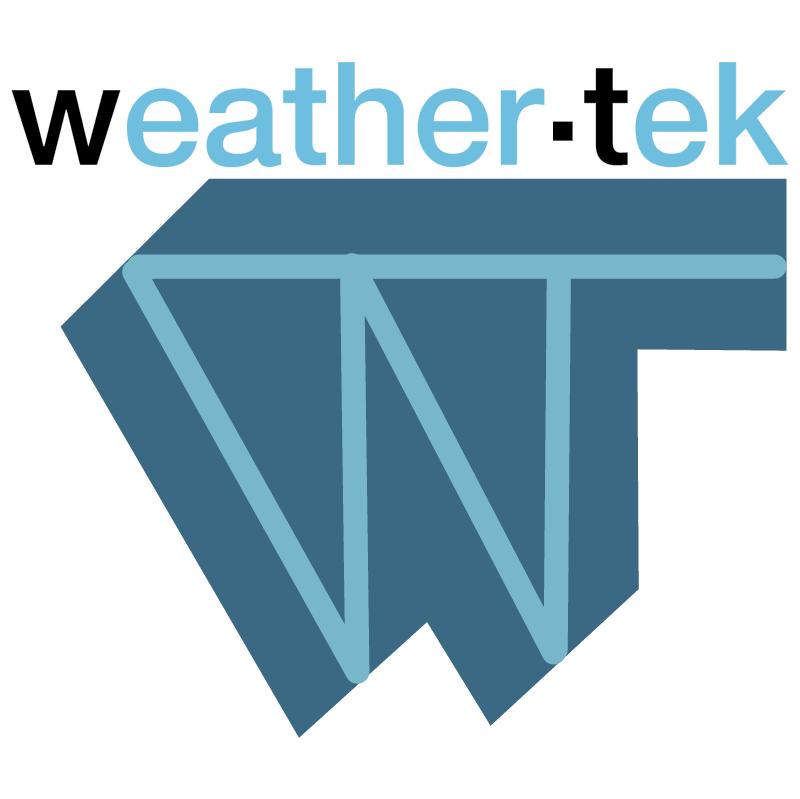 Weather Tek vector logo