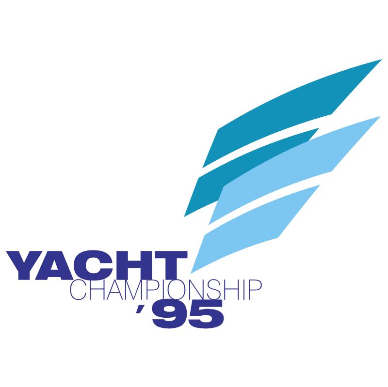 Yacht Championship 95 vector
