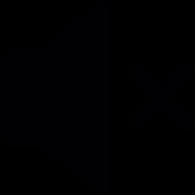 Mute volume interface symbol vector logo