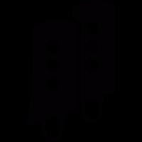 Pair of gaiters vector