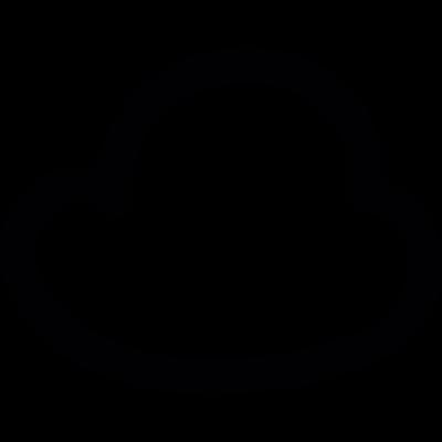 Tiny cloud vector logo