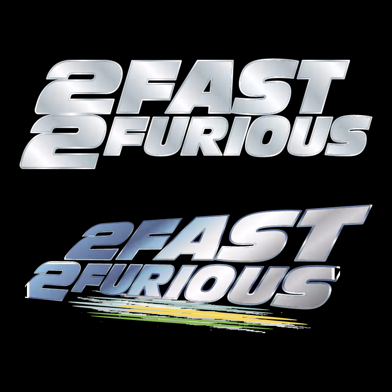 2Fast 2Furious vector