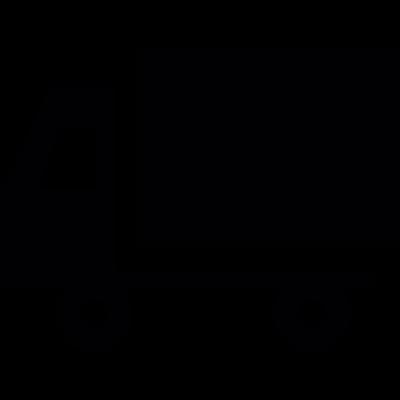 Truck Silhouette vector logo