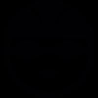 Cyclist helmet vector