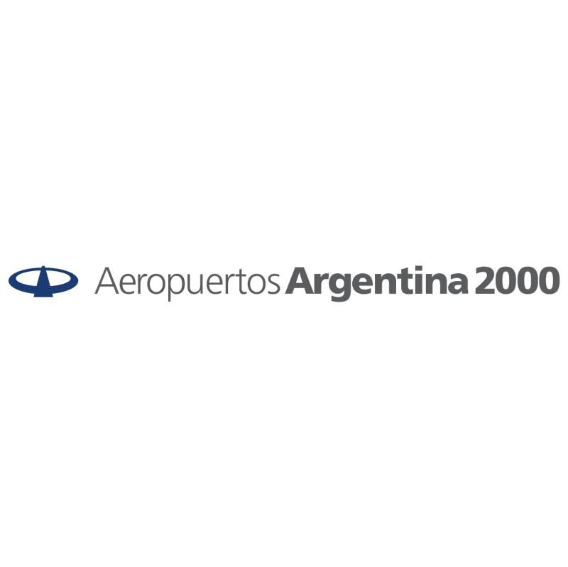 Aeropuertos Argentina 2000 vector