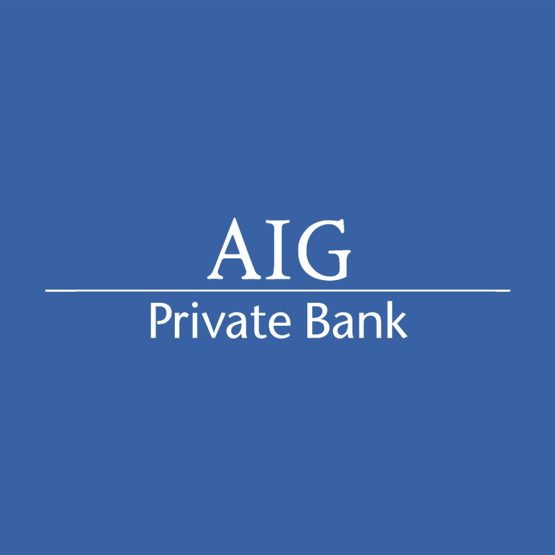 AIG Private Bank 75052 vector