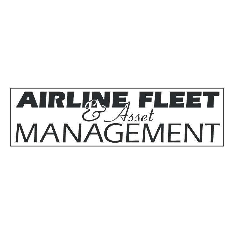 Airline Fleet & Asset Management vector