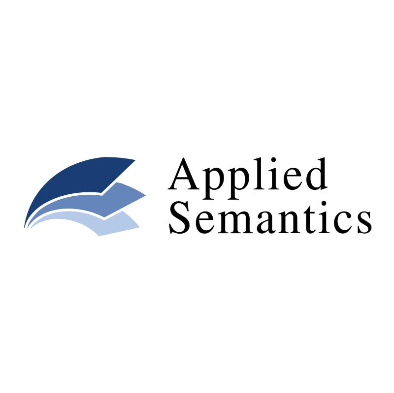 Applied Semantics 35784 vector logo