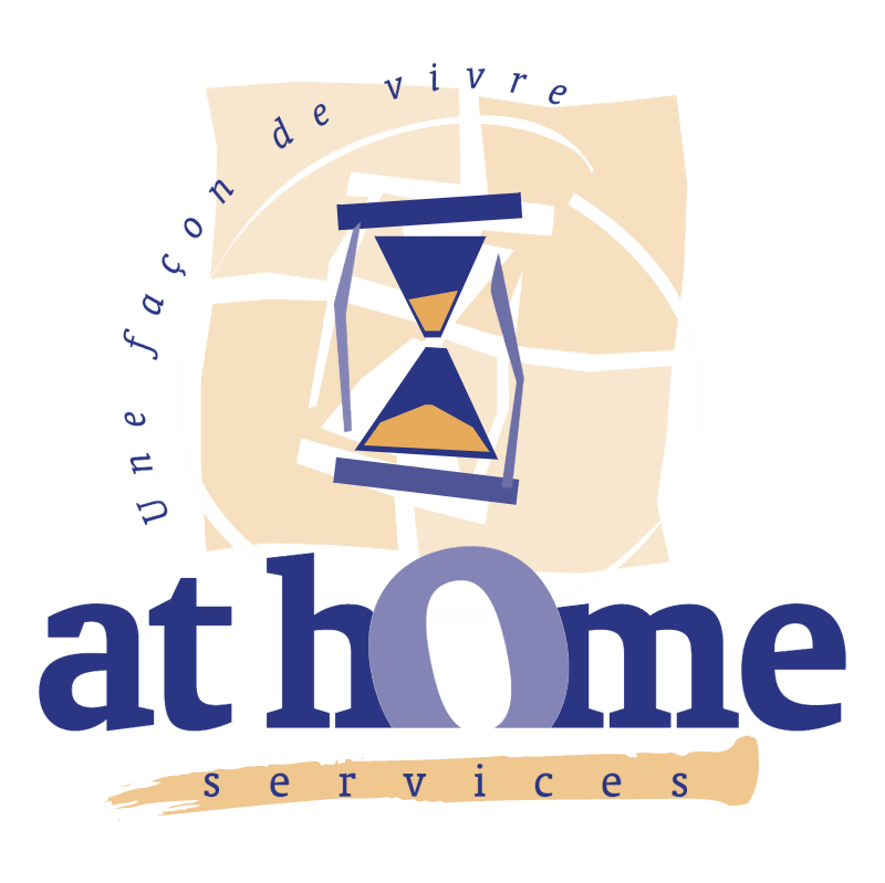 At Home Services vector