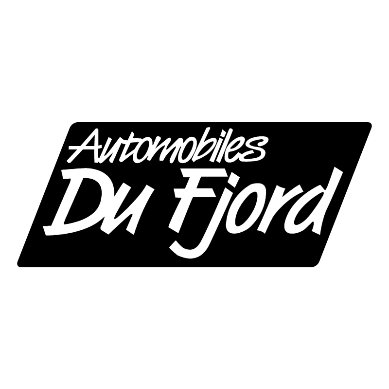 Automobiles Du Fjord 64057 vector