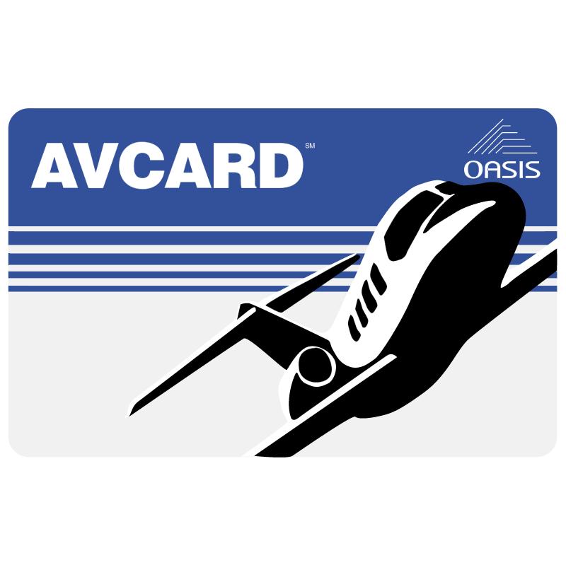Avcard 750 vector logo