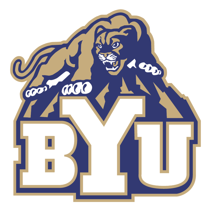 Brigham Young Cougars 74753 vector logo